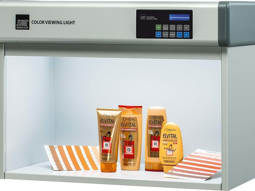 Just Germany Color Viewing Light Cabinet