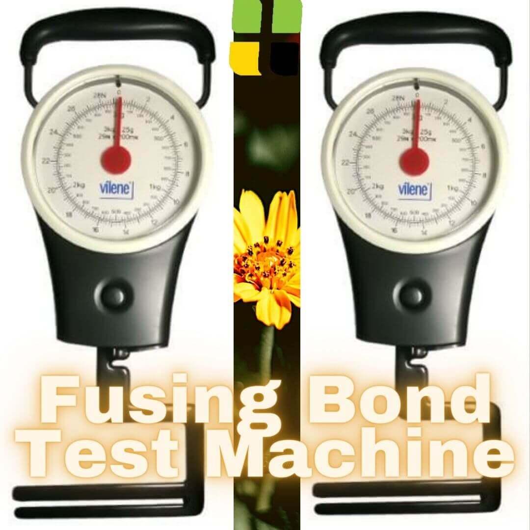 Vilene bonding strength test machine