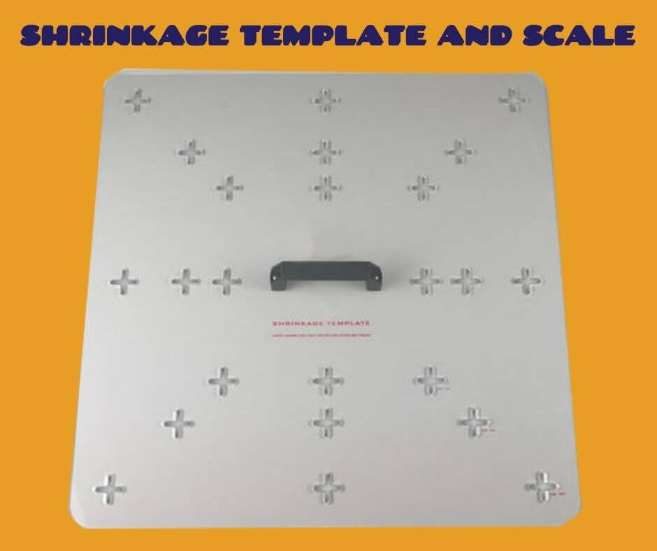 Shrinkage Template and Scale